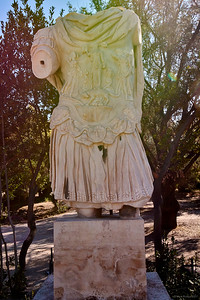 2017.10.10, Statue of Hadrian, Ancient Agora, Athens, Greece