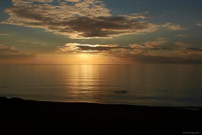 2017.10.11, Beach, sunset, Kalo Nero, Greece