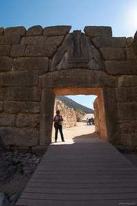 2017.10.15, The Lion Gate, Mycenae, Greece
