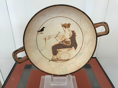 2017.10.17, Apollo playing the lyre, Delphi Archaeological Museum, Greece