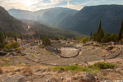 2017.10.18, Theater, Delphi, Greece