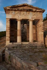 2017.10.18, Athenian Treasury, Delphi, Greece