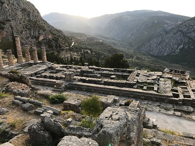 2017.10.18, The Temple of Apollo, Delphi, Greece