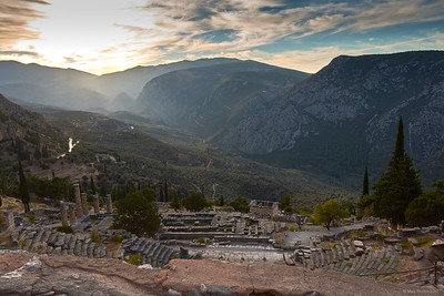 2017.10.18, Theater, Delphi, Greece