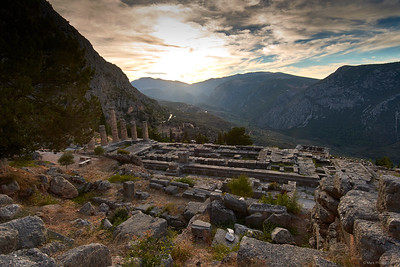2017.10.18, The Temple of Apollo, Delphi, Greece