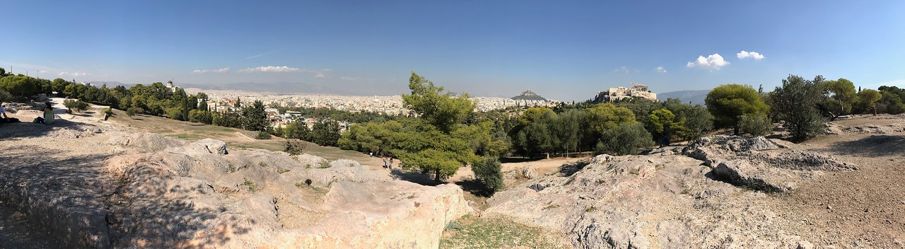 Athens, panorama from the Pnyx