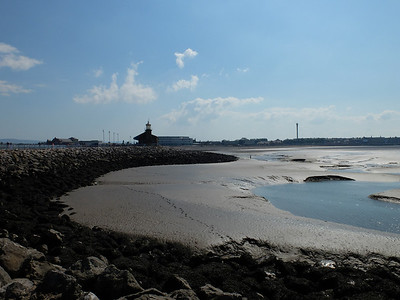 Morecambe...lovely and sedate stroll along the promenade