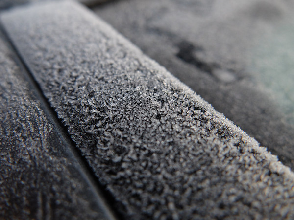 Ice on the car