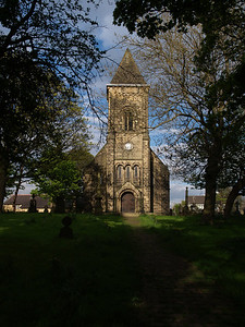 St Thomas' Church in Bramley...didn't even know it was here!