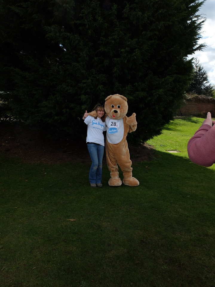 Julie and Michael at the Mascot Race - Wetherby