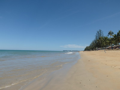 Beach at Khao Lak