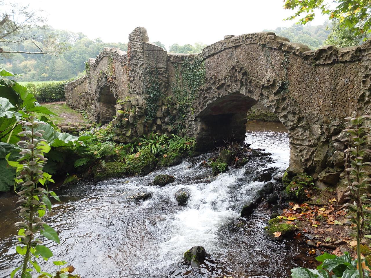 Lovers' Bridge at Dunster Castle