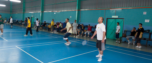 090525 Ex-Terendak Badminton  Payut and Judin