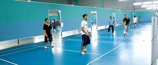 090525 Ex-Terendak Badminton
