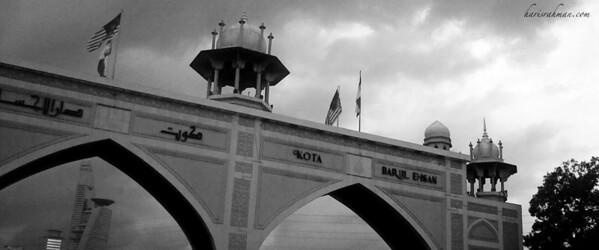 Kota Darul Ehsan  The gateway into Kuala Lumpur if you were to drive from Kelang, along the Federal Highway.