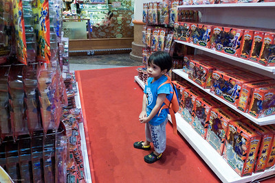 Irfan browsing for Power Rangers toys