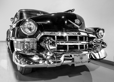 1953 Cadillac 62 Coupe Deville.