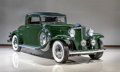 1932 Marmon Sixteen Two-Passenger Coupe.