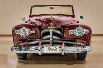 1942 Lincoln Continental Convertible.