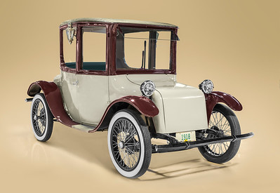 1918 Milburn Electric runabout. Dick's Classic Garage
