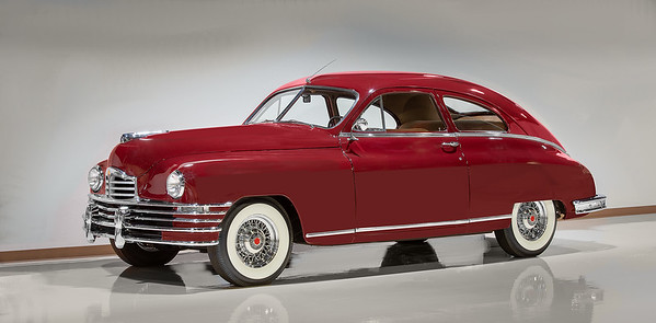 1948 Packard Two Door Club Sedan.