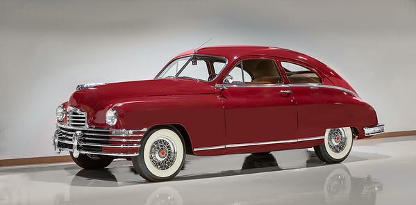1948 Packard Two Door Club Sedan.