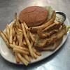 Perch Sandwhich wth Fries
