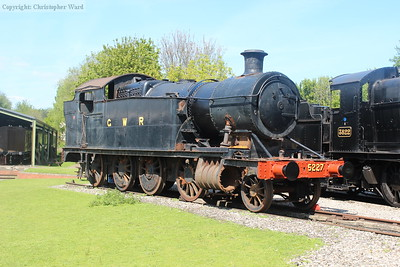 The doomed 5227 (the boiler will be used for the planned 4700 new-build) enjoying one of her final days in the sunshine