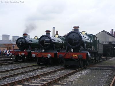 Rood Ashton, Burton Agnes and Hinderton Hall
