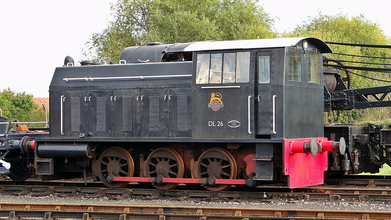 SH 5238 (DL26) Hunslet 0-6-0DM. 13,10,2012