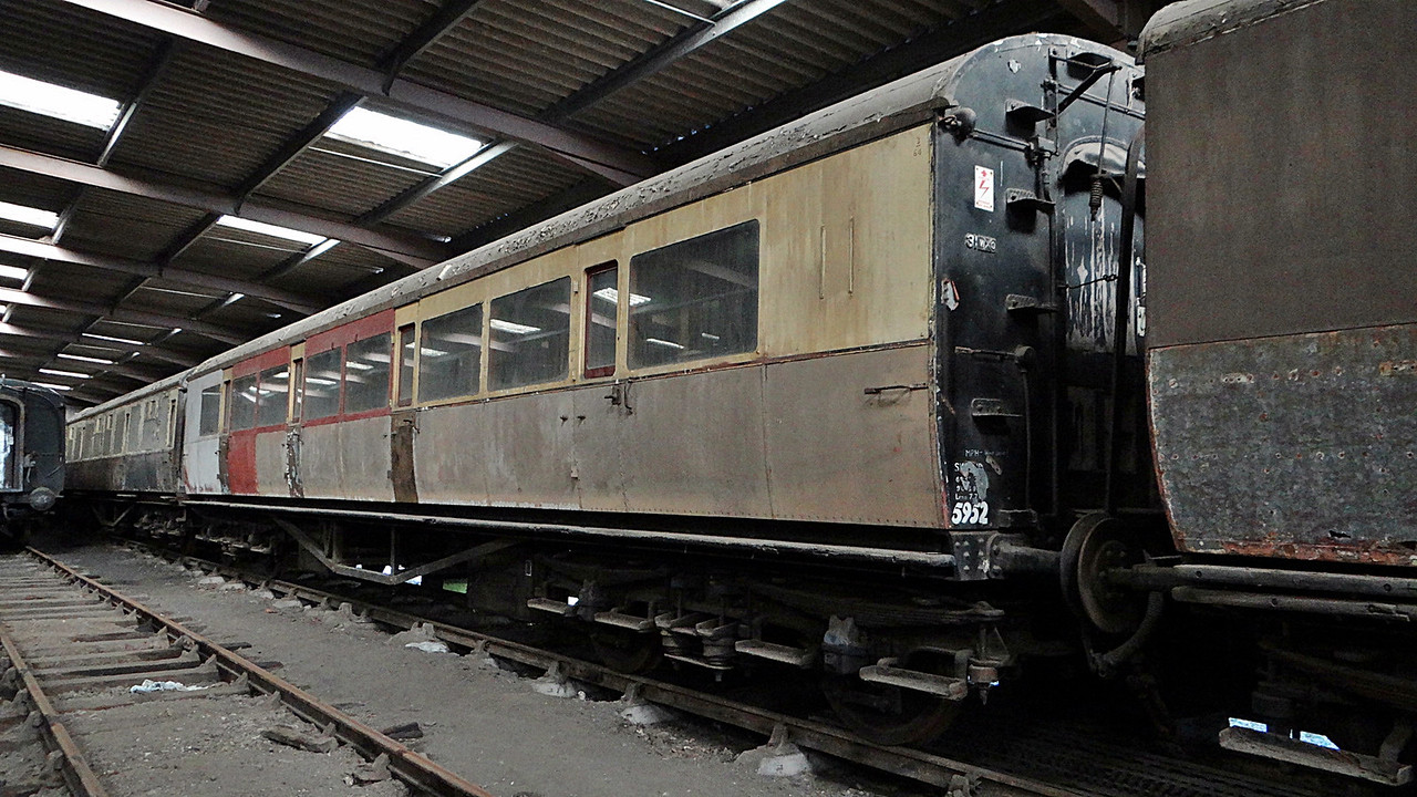 GWR 5952 Collett TK 13,10,2012