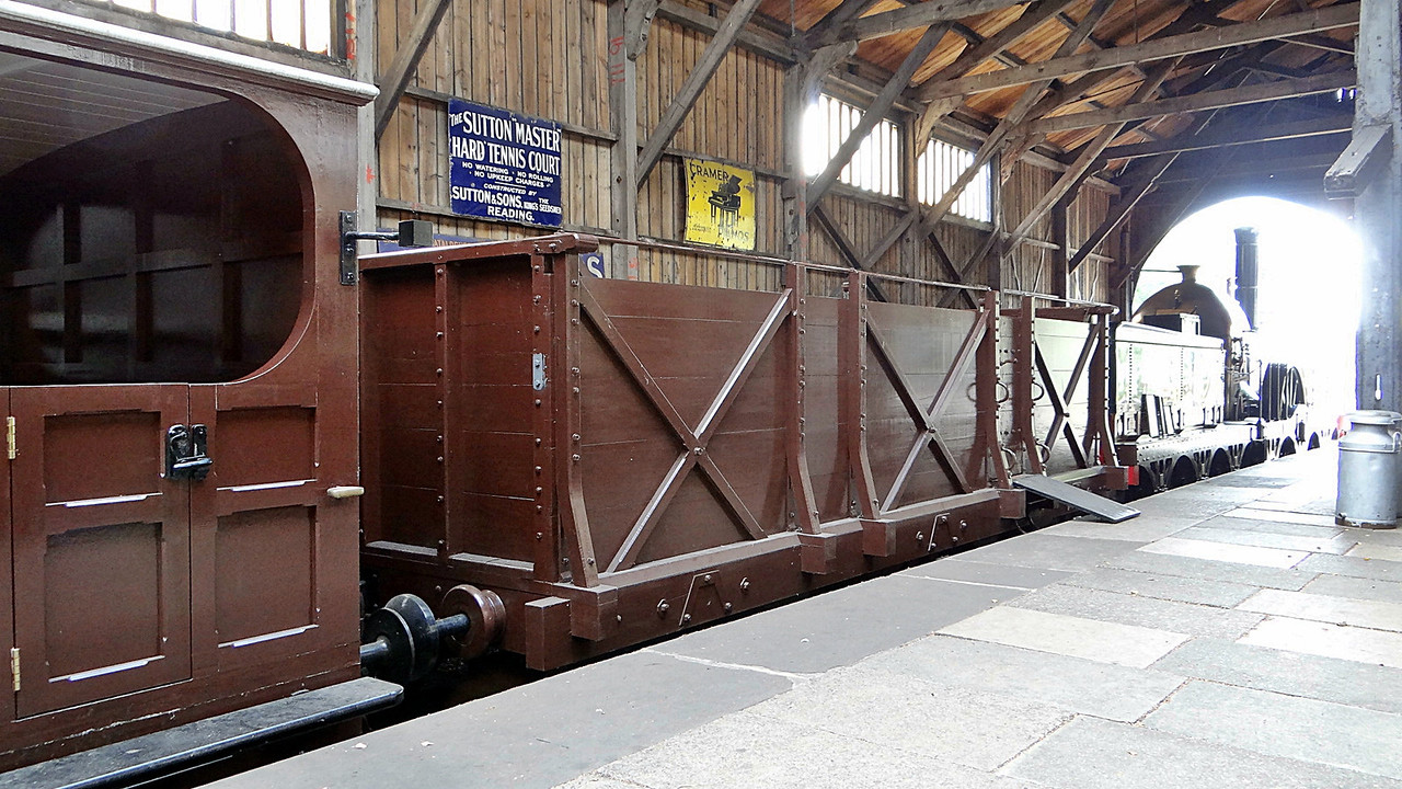 GWR No No. Gooch 6w Third Open (Replica) Broad Gauge. 13,10,2012