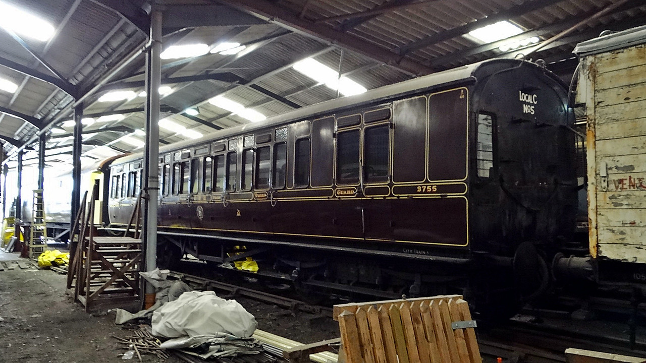 GWR 3755 Churchwood BT Toplight 13,10,2012