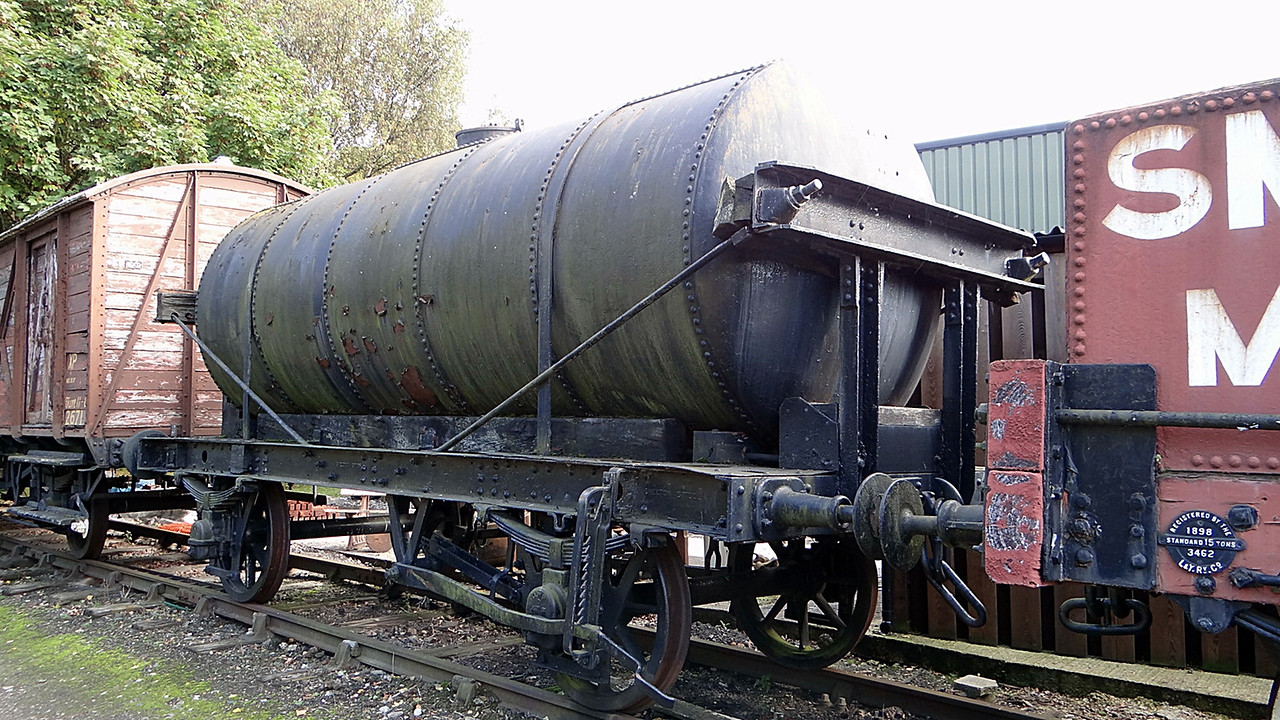 GWR 43949 Creosote Tank. 13,10,2012