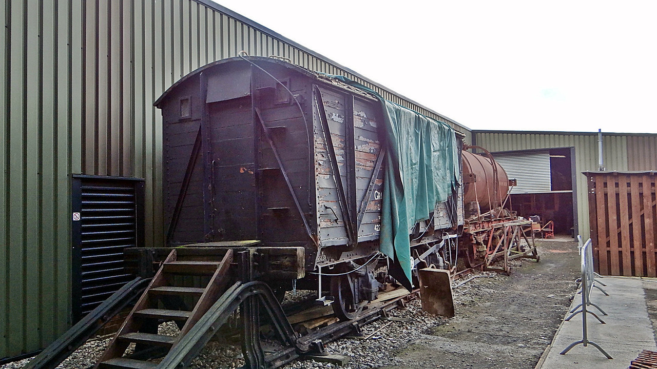 GWR 42239 Ventilated Grain Van Plank. 13,10,2012
