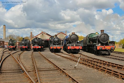 An array of GWR motive power