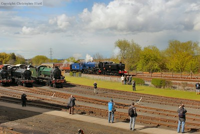 9466 and 6023 soak up the sun