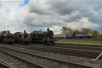 GWR motive power of vastly different eras