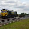 66502 passes Swindon STEAM on 4L32 Bristol - Tilbury