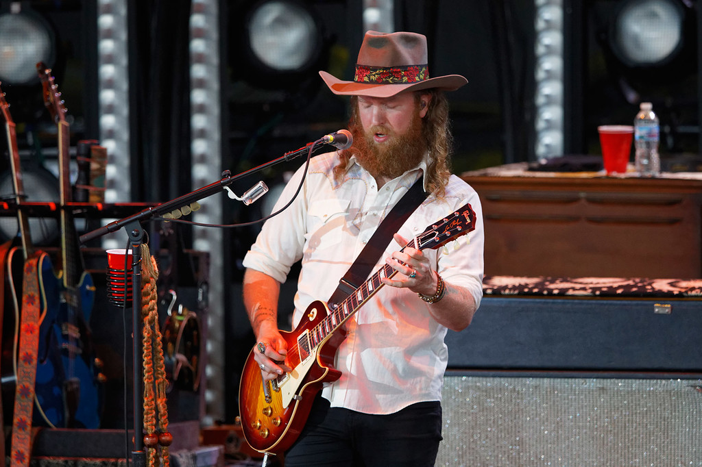 . Brothers Osborne live at DTE Music Theatre on 6-1-2018. Photo credit: Ken Settle