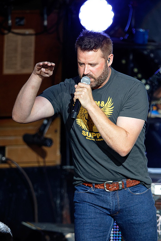 . Randy Houser live at DTE Music Theatre on 5-22-2016. Photo credit: Ken Settle