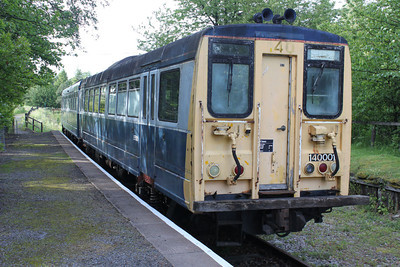 Railbus 140001  at the Keith and Dufftown Railway 25/06/11.