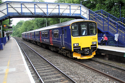 150001 at Reading West on a Basingstoke-Reading service 01/06/12.