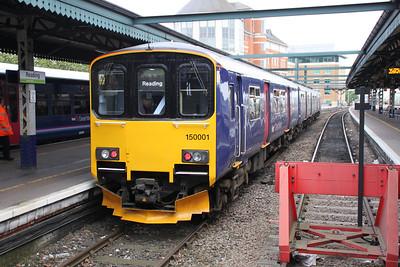 150001 sits at Reading 01/06/12.