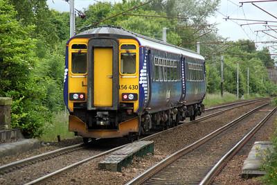 156430 departs Bellshill for Glasgow 04/07/12.
