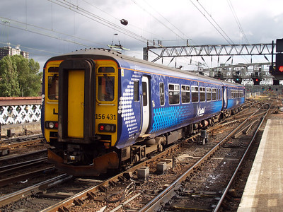 156431 Glasgow Central 01/08/10.