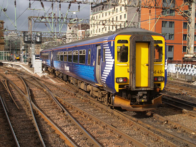 156434 Glasgow Central 01/08/10.