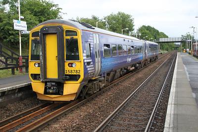 158782 at Greenfaulds Station 03/07/12.