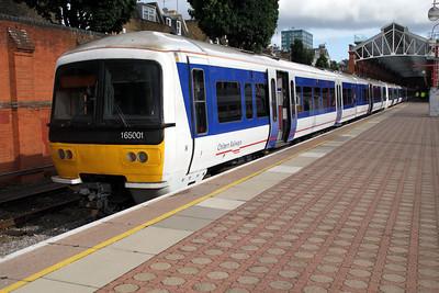 165001 Departs Marylebone 21/06/12.