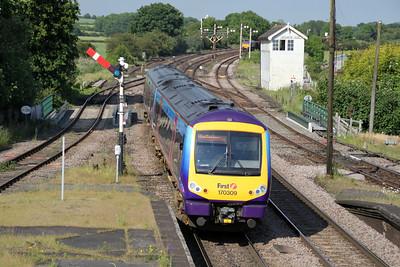 170309 passes Barnetby 18/06/12.